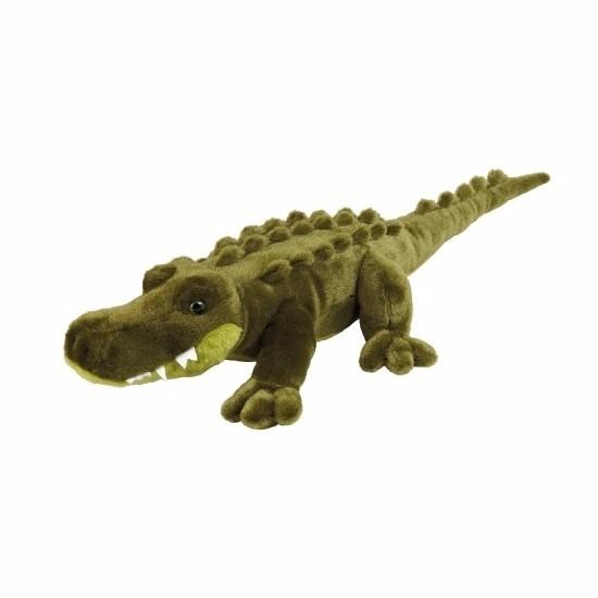 Pluche liggende krokodillen knuffel 60 cm CartoonPartner Goedkoop