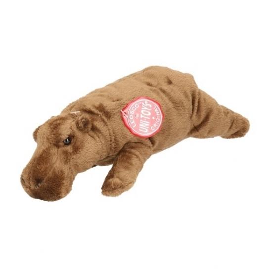 CartoonPartner Pluche nijlpaard knuffeldier 25 cm Dieren knuffels