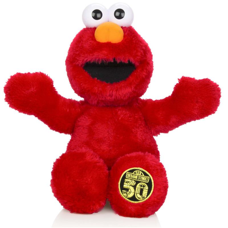 Pluche Sesamstraat Elmo knuffel 40 cm met geluid