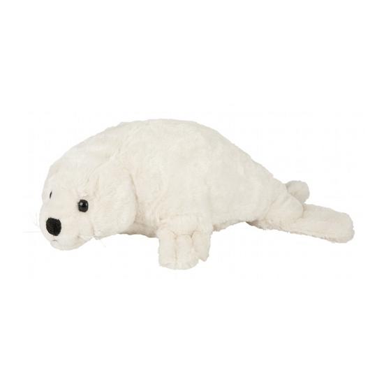 Dieren knuffels Pluche witte zeehond 40 cm