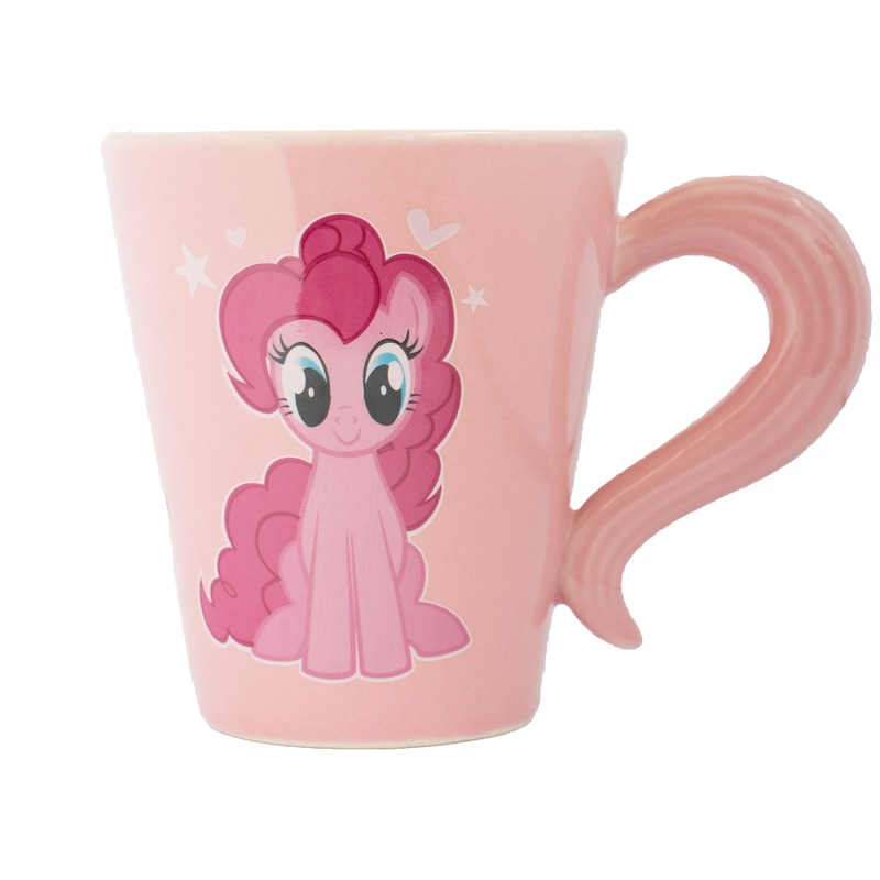 Roze My Little Pony staart mok/drinkbeker Pinkie Pie 320 ml