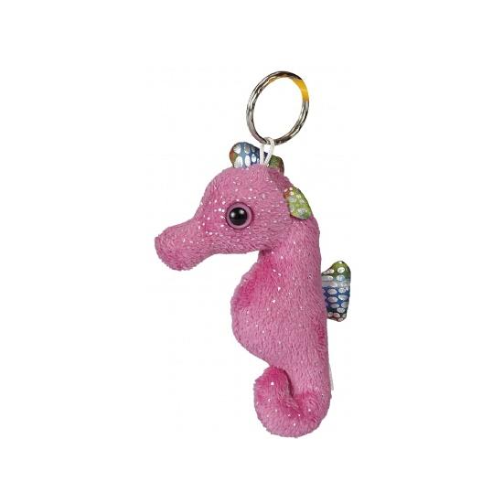 Roze zeepaarden sleutelhangers CartoonPartner Pluche sleutelhangers