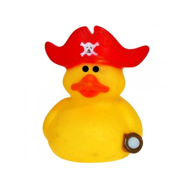 CartoonPartner Rubberen kapiteinen badeendje met rode muts Speelgoed diversen