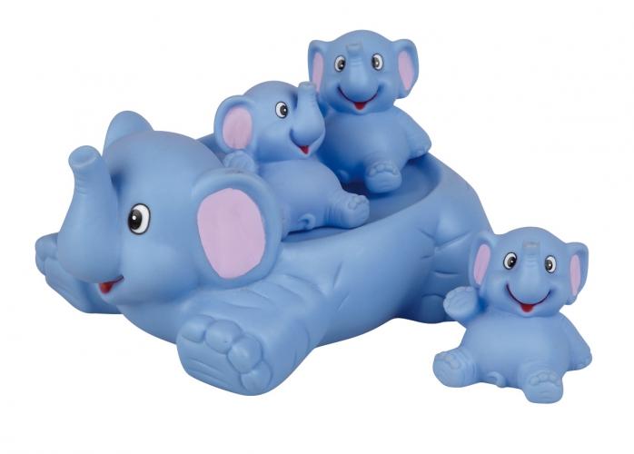 Speelgoed diversen CartoonPartner Rubberen olifanten voor in bad