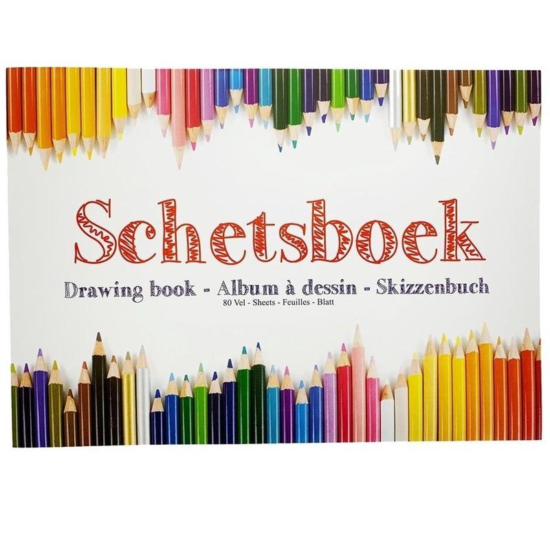 Kleurplaten Frozen A4 Formaat.Schetsboek Tekenboek A4 Formaat 80 Vellen Schets En