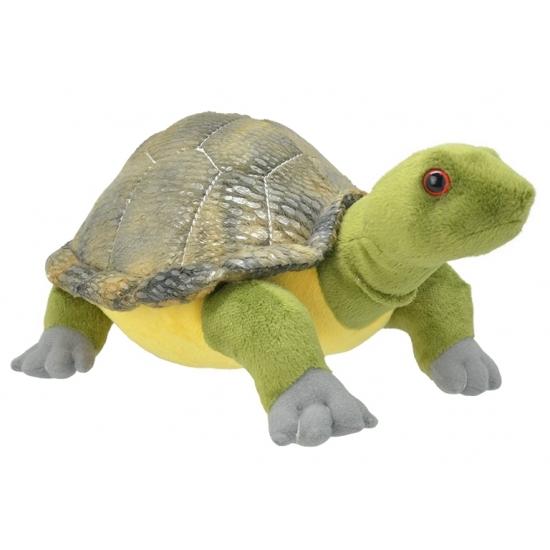 CartoonPartner Schildpad knuffeltje 28 cm Dieren knuffels