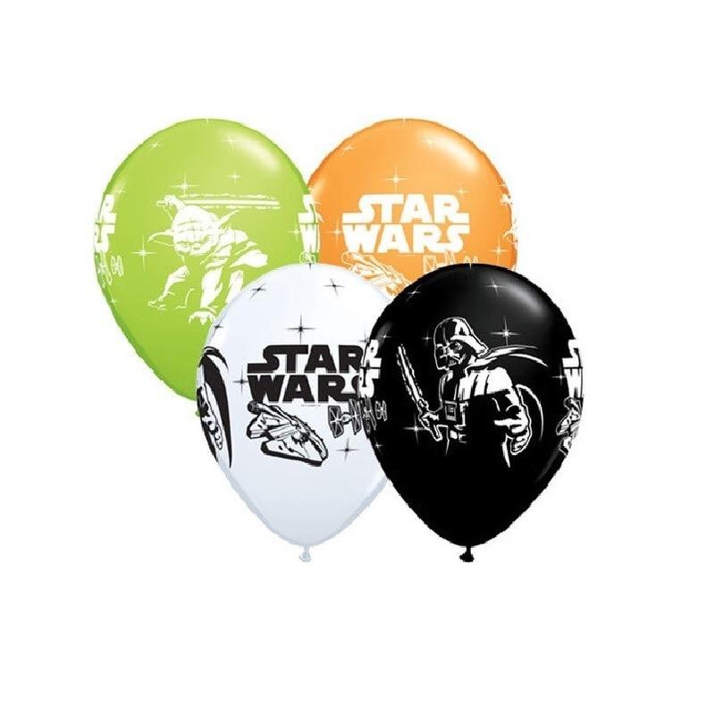 Star Wars kinderfeestje ballonnen 6x