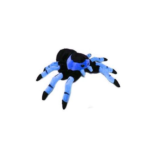 Dieren knuffels CartoonPartner Tarantula knuffel blauw 22 cm