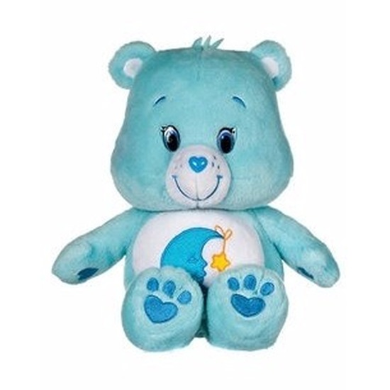 Turquoise Care Bears knuffel 22 cm