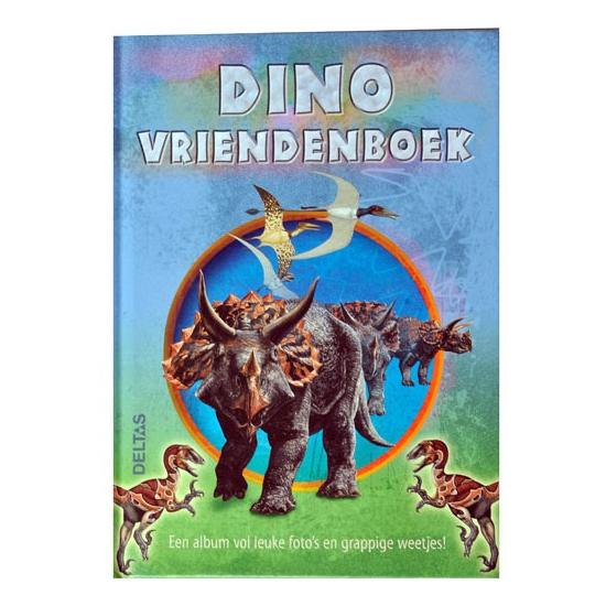 Educatief speelgoed Geen Vriendschapsboek dinosauriers