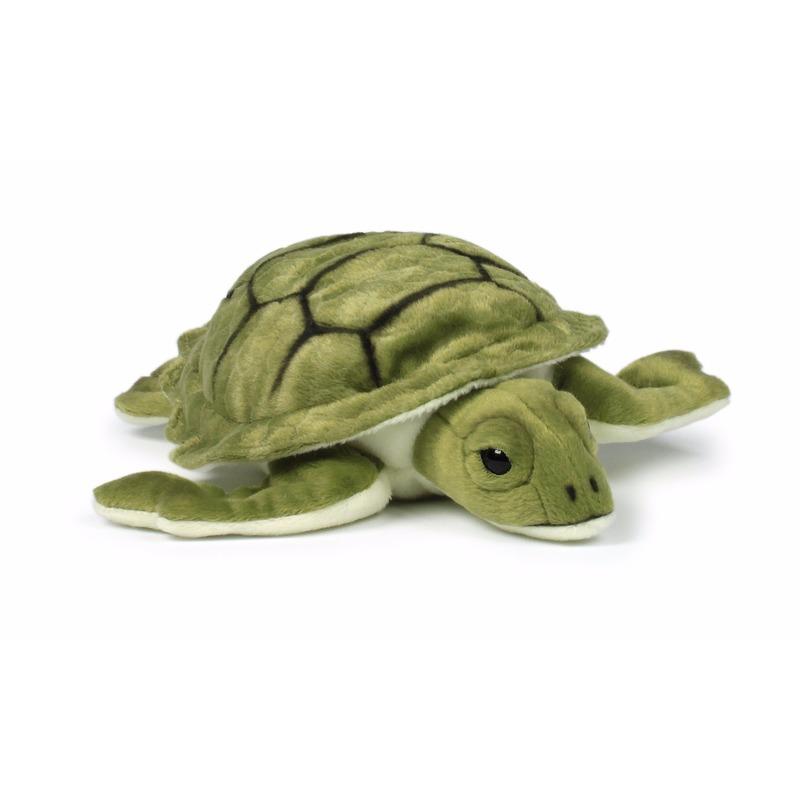 Dieren knuffels WNF knuffels zee schildpad 23 cm