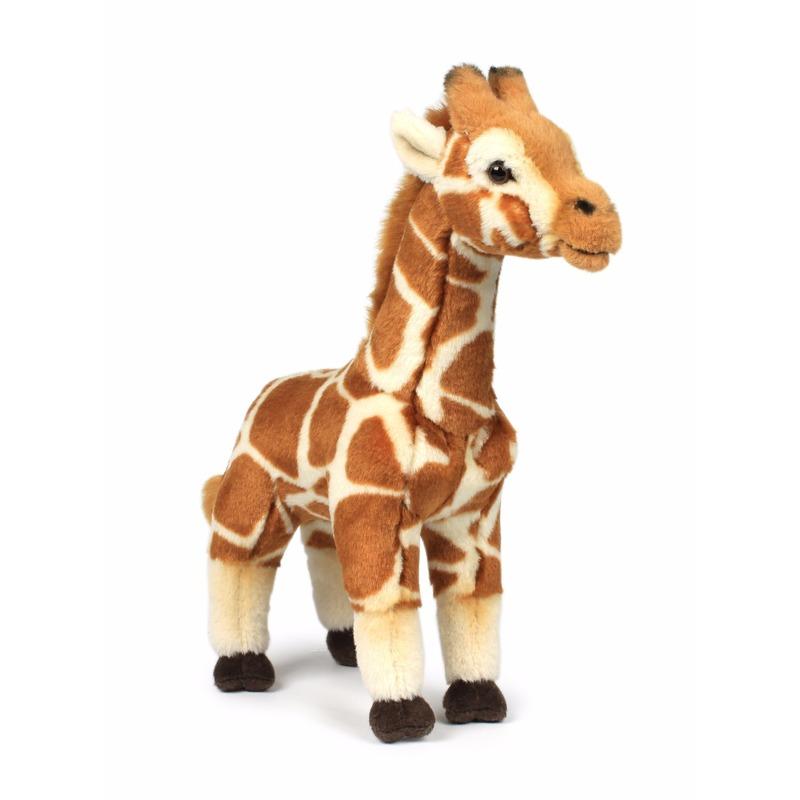 WNF WNF pluche giraffe 31 cm Dieren knuffels
