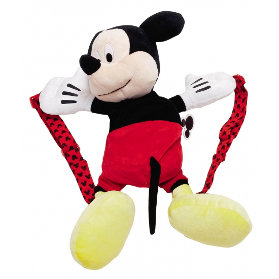 Pluche Mickey Mouse rugtasjes