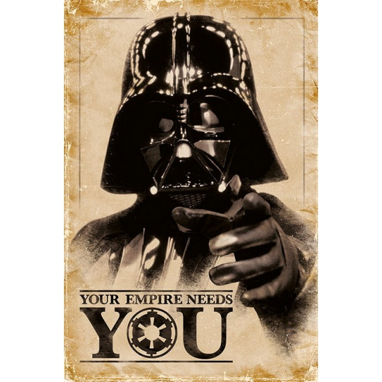 Poster Star Wars Darth Vader 61 x 91,5 cm